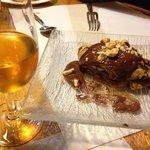 Crêpe de avellanas y chocolate + diamante de sidra