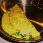 Spinach and Cheddar Omelet