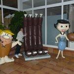 Muñecos de Picapiedra