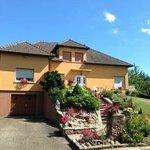 La maison d'hôtes en Alsace chez Ursula au coeur du vignoble alsacien près de Riquewihr