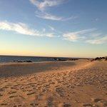 Private Beach at Sunrise