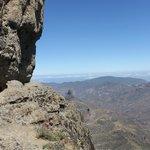 Sicht auf die Berglandschaft vom Roque Nublo