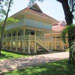 Den gamle kungen Rama 5 slott ligger i en stor park utanför Hua Hin.