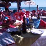 Beach restaurant in Bucerias Mar Y Sol