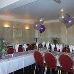 Wedding table - Inn for All Seasons, Treleigh, Redruth