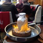 The flaming lamb stew
