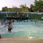 Wave pool in Main building.