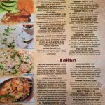 Seafood & fajitas
