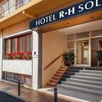 Fachada del hotel RH Sol