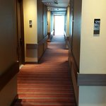 Vista de los corredores