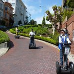 Lombard Street on Segways