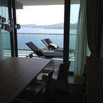 Suite balcony