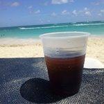 bebida e praia