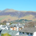 View to Skiddaw from Room 4