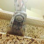 Unclean sink
