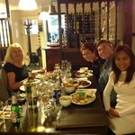 the family at the Lusty Wench