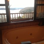 Even a hot tub with an Awesome View!!!