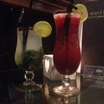 Mojito & Smirnoff Raspberry Collins