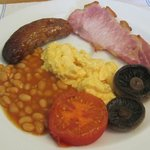 Traditional English Breakfast provided