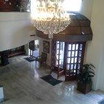 Lovely Hotel entrance