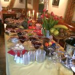 Breakfast Buffet was remarkable - fresh & nice variety