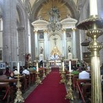 Main Altar and aisle during Good Friday 2014