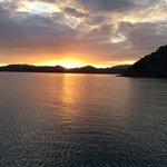 sunrise on The Rock