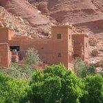 la kasbah vue des jardins