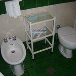 salle de bain coté droit