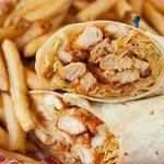 Pulled Chicken Wrap
