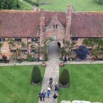Sissinghurst from the top of the tower.