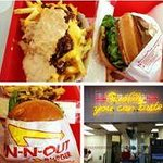 San Fran In n Out. Cheeseburger and Animal Style fries