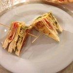 Restaurant Ae Do Rode Caorle  Clubsandwiches ! Fantastisch ! Hat sich in mehr als 10 Jahren nich