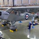 aircraft display --piper cub