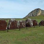 Hüte, die keinem Moai mehr passen