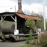 Tillamook Museum - steam 'donkey'