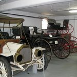 Tillamook Museum - buggies, cars