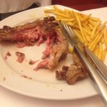 Not the best veal t-bone ever.... Shame...
