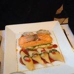 Salmon - delicious.