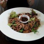 Warm Aromatic Duck Salad