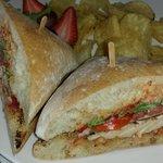 Chicken sandwich...fabulous...