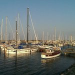 Nearby sail port