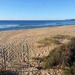 Beautiful beach for a walk