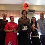Runner up in North Devon Barista Championships