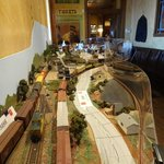 Railway road model
