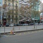 Suites Avenue - Vue sur la façade