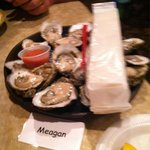 Jumbo oysters compared to what we had in Panama City beach!