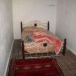 The first room we were offered: double bed