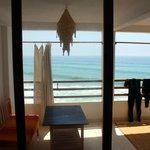 The apartment: balcony