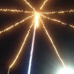 carousel lights (wedding night at the beach)